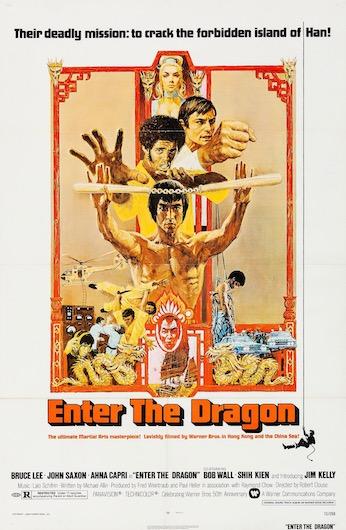 Enter The Dragon Original Vintage Movie Poster