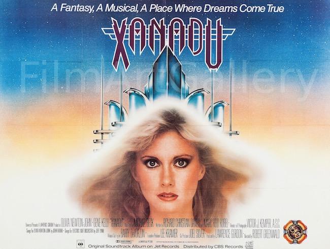 Xanadu Original Vintage Movie Poster