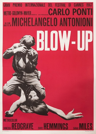 Michelangelo Antonioni Vintage Movie Poster