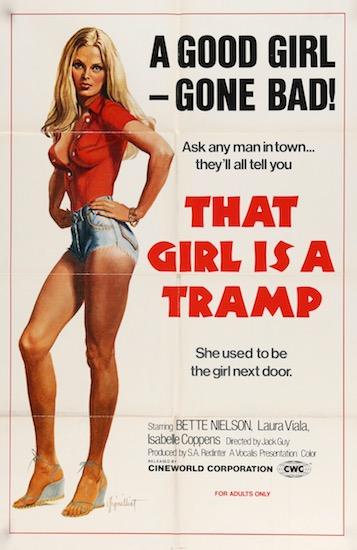 That Girl Is A Tramp Original Vintage Movie Poster