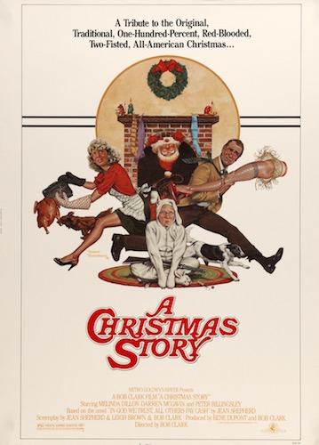 A Christmas Story Original Vintage Movie Poster