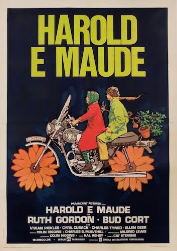 Harold And Maude Original Vintage Movie Poster