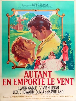 Gone With The Wind Original Vintage Movie Poster