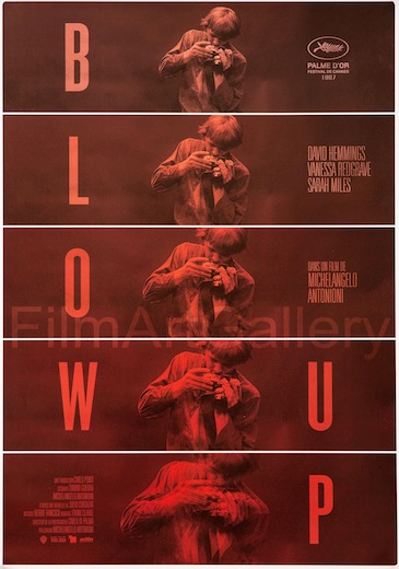 Blow Up Original Vintage Movie Poster