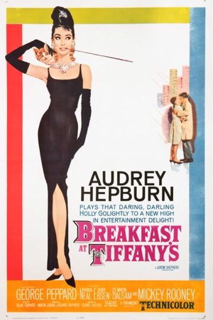 Breakfast At Tiffanys Original Vintage Movie Poster