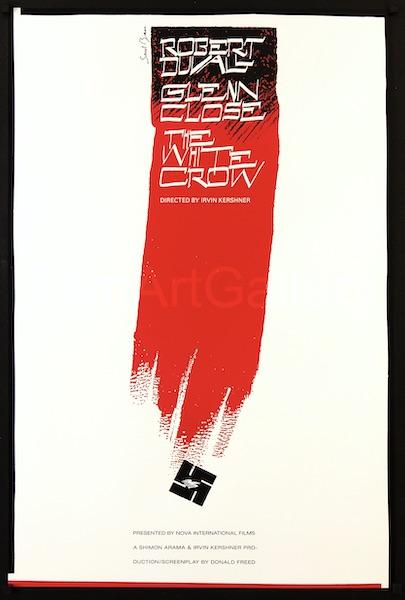 Saul Bass White Crow Original Vintage Movie Poster