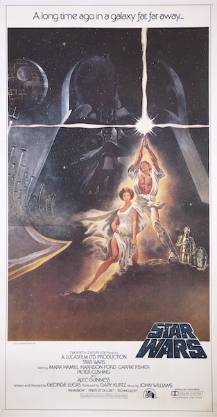 Star Wars Original Vintage Movie Poster