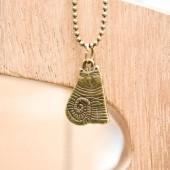 Breloque Chat rayures Bronze vieilli