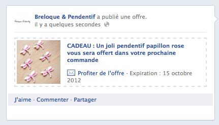 Page fan facebook de BreloquePendentif.com