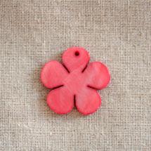 Pendentif Nacre Fleur Rose