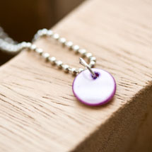 Sequin Nacre 10mm Violet