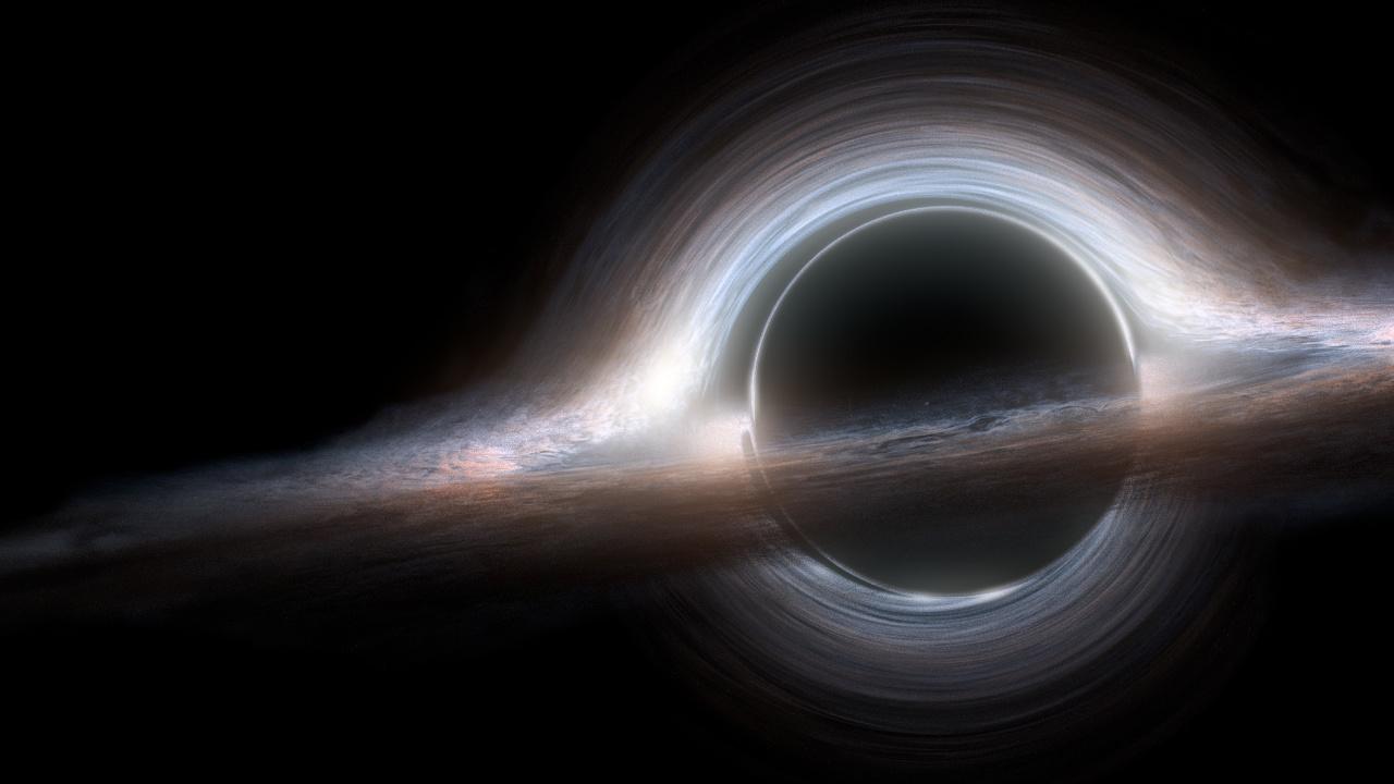 Buraco negro do filme Interstellar