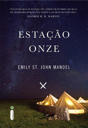Capa do livro Estação Onze, de Emily St. John Mandel