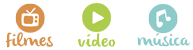 filmes / vídeo / música