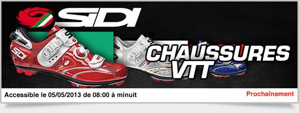 Prochainement: Chaussures VTT Sidi
