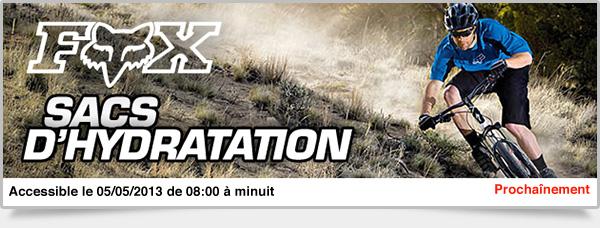 Prochainement: Sacs d'Hydratation Fox