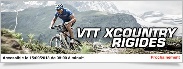 Prochainement: VTT XC Rigides