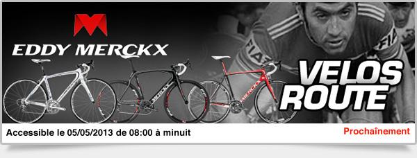 Prochainement: Vélos Route Eddy Merckx