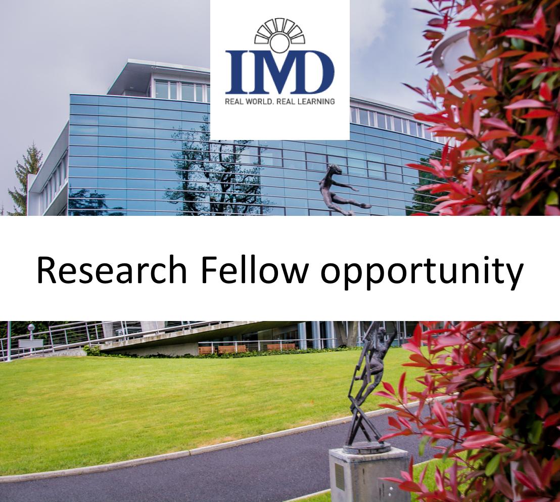 IMD Job Opportunity