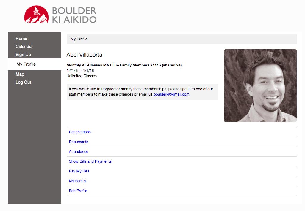 Boulder Ki Aikido Zen Planner Portal