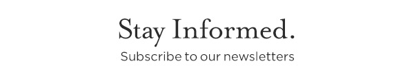 Stay Informed. Sign-up to receive our additional Conference e-Newsletters