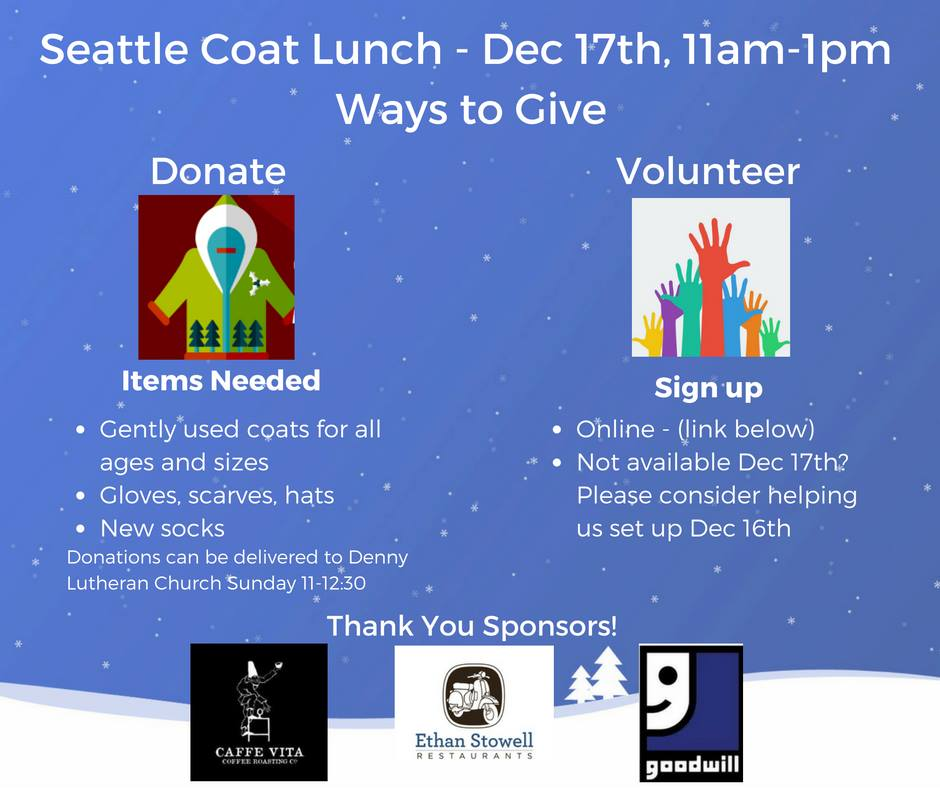 Seattle Coat Lunch
