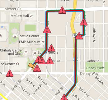 SLU Road Closure Map