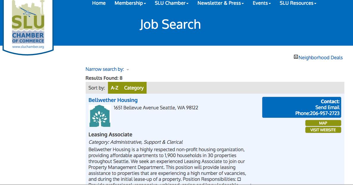 Job Postings Page