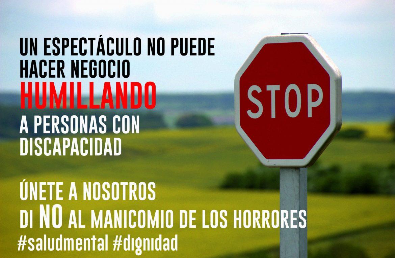 Stop Manicomio Circo de los Horrores