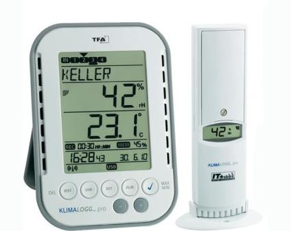 Professional Thermo-hygrometer with data logger function