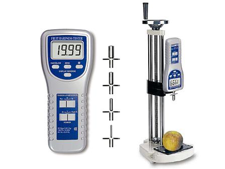 Digital fruit pressure tester