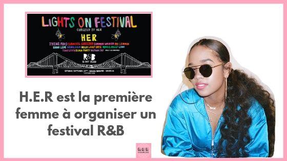 H.E.R. fait son festival