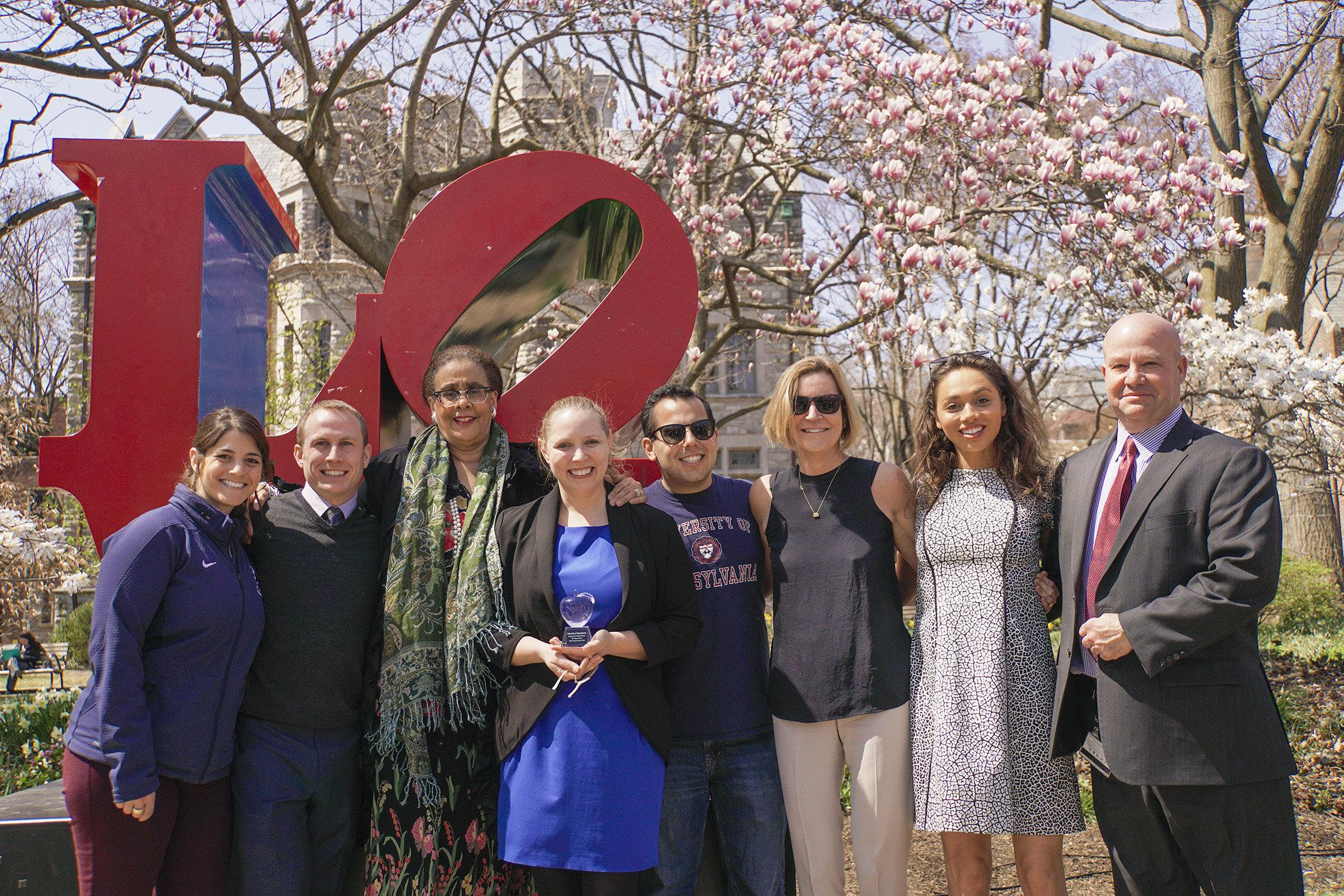 Members of the Healthy Penn team
