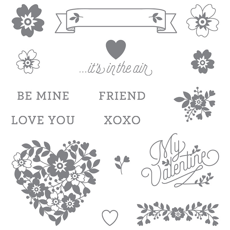 Valentine's Day Stamps: Stampin'UP!'s Bloomin Love Stamp Set