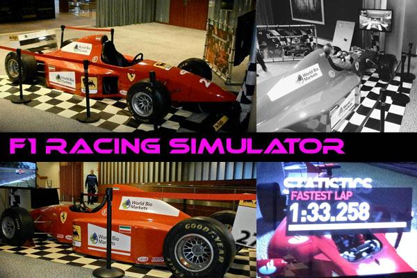 F1 Race Simulator informatie