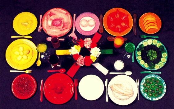 Art of Dining: The Colour Palate