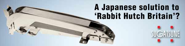 A Japanese solution to Rabbit Hutch Britain - The LIN-X stay