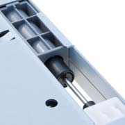 Lapcon hydraulic damper for soft-close function