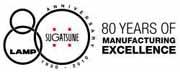 sugatsune 80th anniversary logo