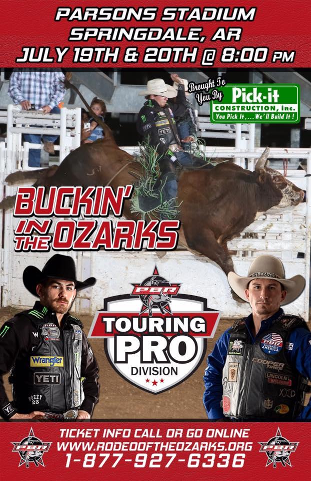 Buckin' in the Ozarks graphic