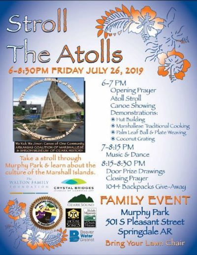 Stroll the Atolls flyer