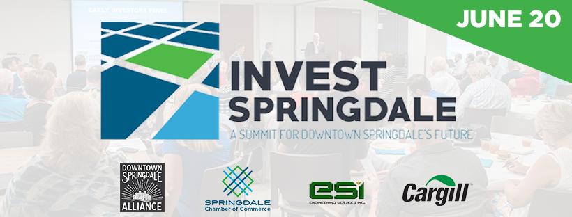 Invest Springdale graphic