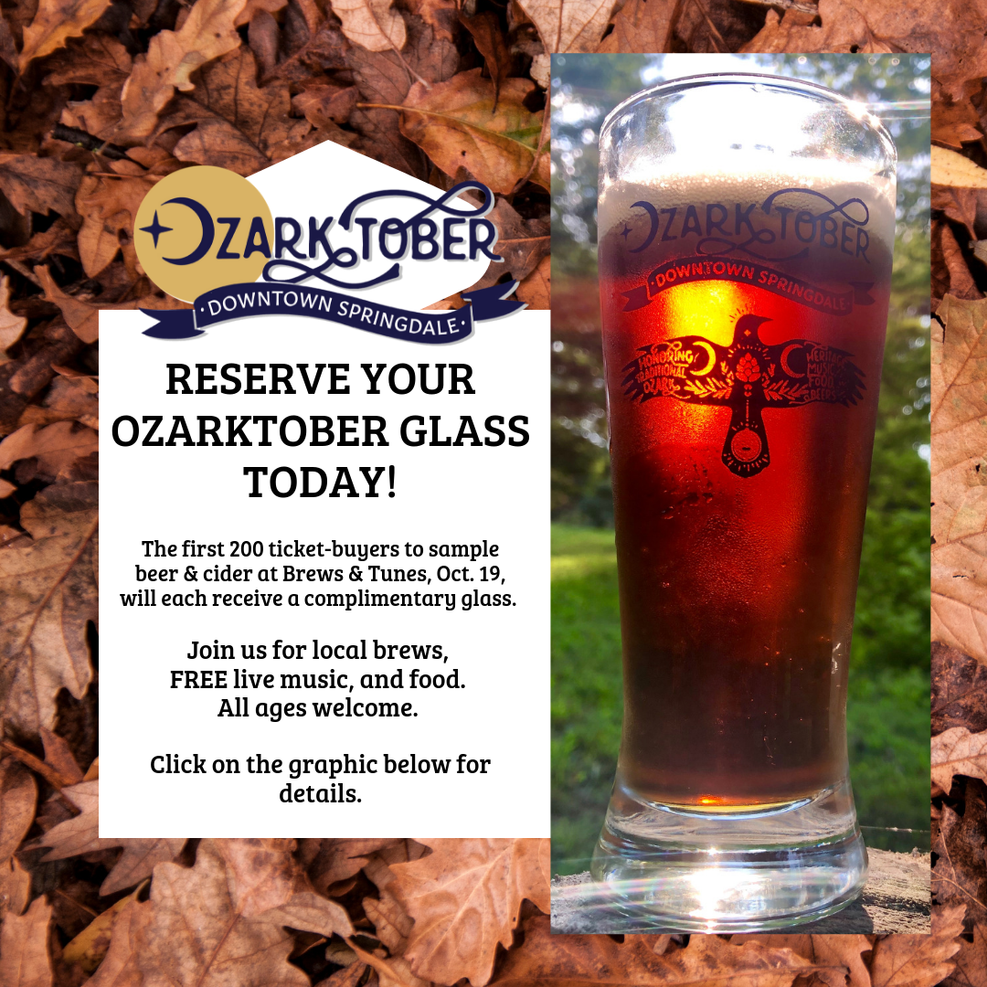 Reserve your Ozarktober glass graphic