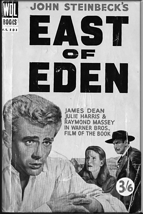 """""""East of Eden"""" movie poster"""