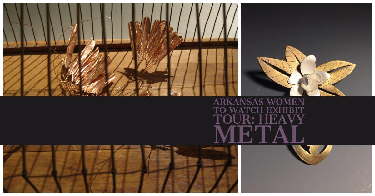 Arkansas Women to Watch exhibit graphic