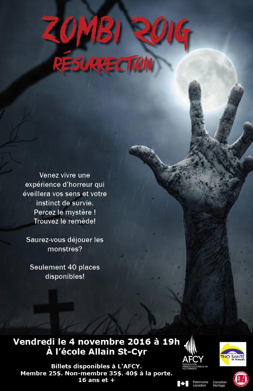 Affiche zombi