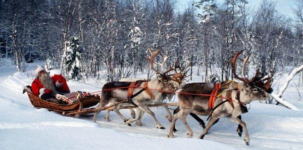 Père Noël arrive