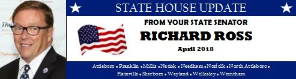 Senator Ross: April 2018 State House Update