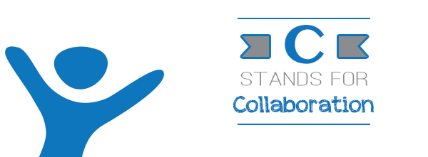 C stands for Collaboration