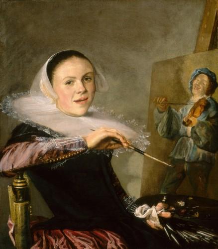 Judith Leyster, zelfportret, 1630